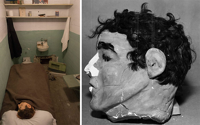 The Paper Mache Heads Made By Frank Morris, John Anglin And Clarence Anglin When They Escaped Alcatraz Prison