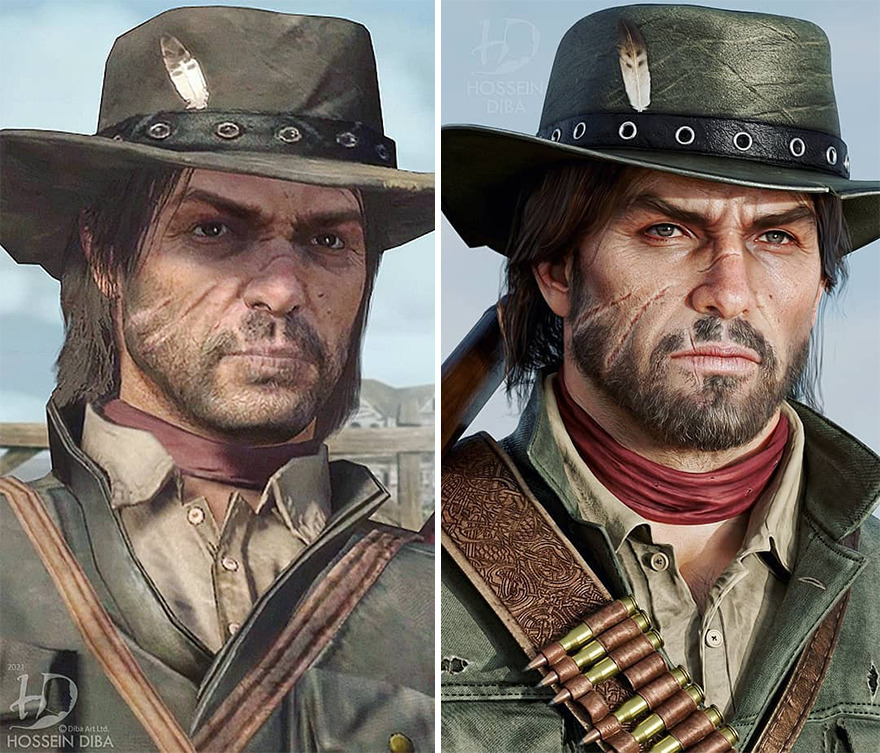 John Marston From Red Dead Redemption