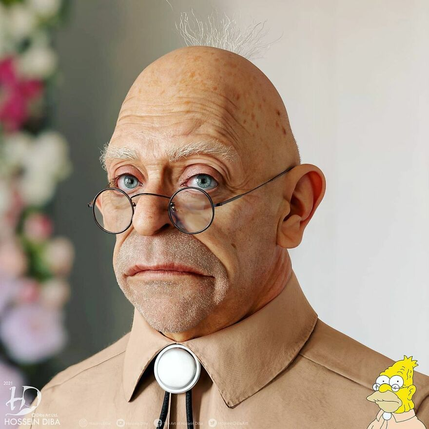 Grampa Simpson From The Simpsons