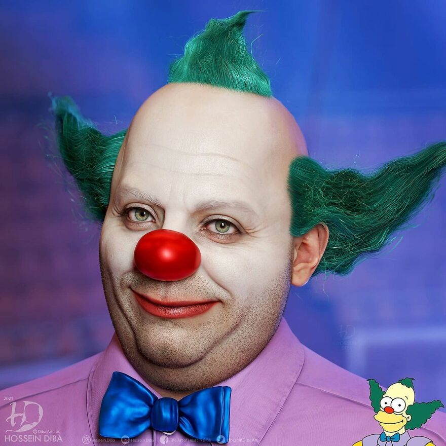 Krusty The Clown From The Simpsons