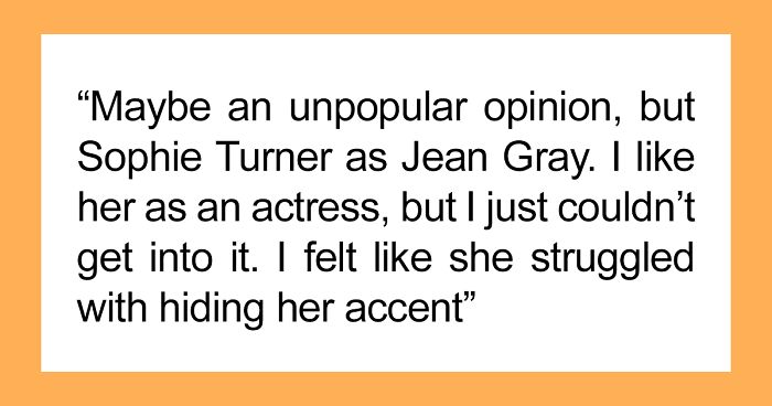 """Someone Asked This Online Group """"What Actor/Actress Was Completely 100% Wrong For The Role?"""" And Here Are The Best 53 Answers"""