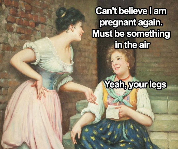 30 Of The Funniest Classical Art Memes From This Instagram Page