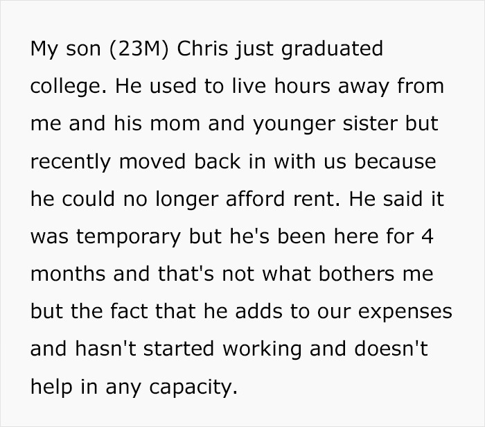 Son Expects He Can Freeload Off His Parents After Moving Back In With Them - Flips Out When Dad Introduces Some New Rules
