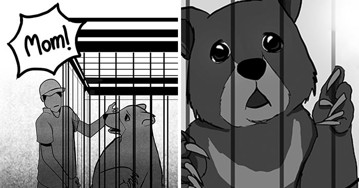 Well-Known Comic Artists And Celebs Raise Awareness About What Endangers Animals In The Hope Of 'Rewriting Extinction' (9 Comics)