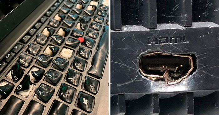 Tech Support People Are Sharing The Worst Cases They've Seen While On The Job (50 New Pics)
