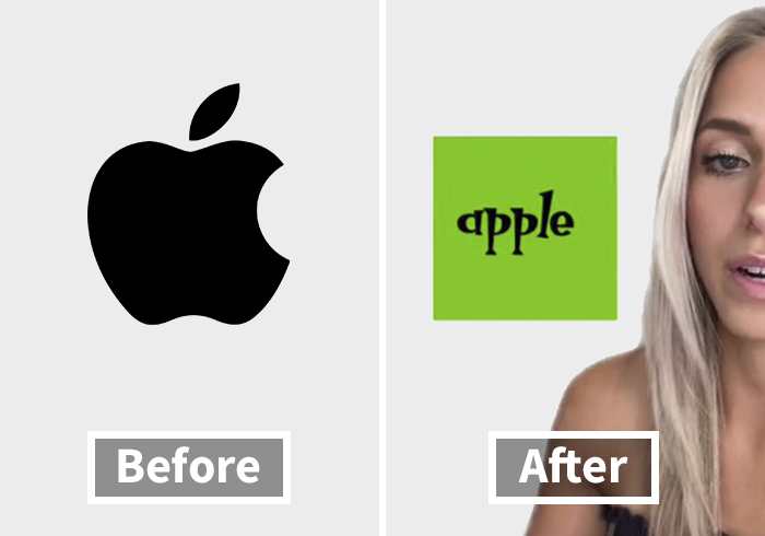 Woman Mocks 13 Iconic Logos By Comically Redesigning Them, Some End Up Being Used By The Brands Themselves