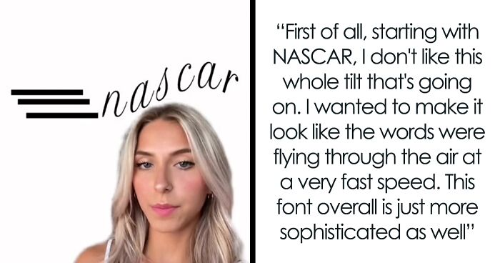 This TikToker's Bad Redesigns Convinced Major Brands To Change Their Logos On The App After She Shared Them Online (13 Pics)