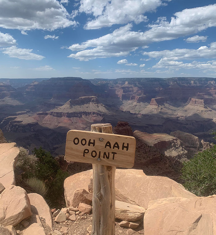 Great View With A Fitting Name At The Grand Canyon