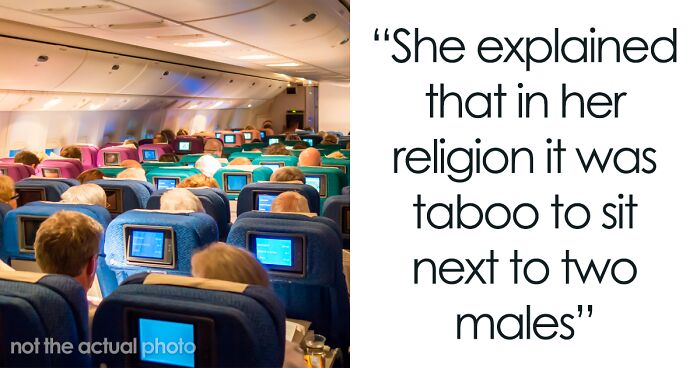 Guy Sparks Drama On Plane After Refusing To Switch Seats To Accommodate Woman's 'Religious Beliefs'