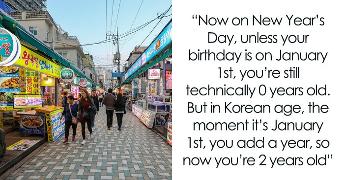 TikTok User Explains How Differently Koreans Measure Age When Compared To The Rest Of The World