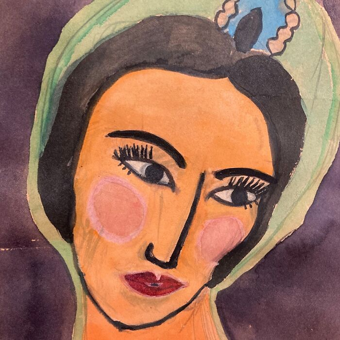 This Painting Of Maria Tallchief That I Painted In 5th Grade. I Just Think Its So Beautiful And I Wish I Could Still Paint Like This.