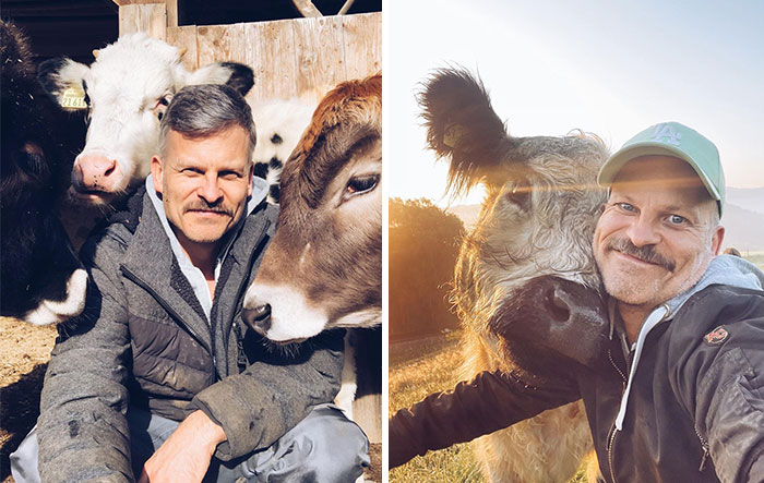 Farm Animals Are Not Just Food And This Man Proves That
