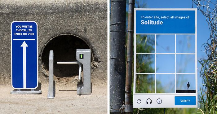 Artist Leaves Funny Signs Around His City For People To Find (103 Pics)